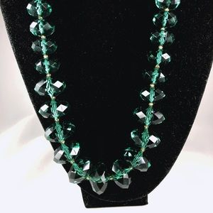 Joan Rivers Classic Collection Emerald Necklace